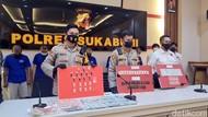Kasus Ganja hingga Sabu, 43 Orang Diringkus Polisi di Sukabumi