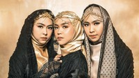 10 Gaya Hijab Ricis Jelang Pernikahan, Abadikan Momen Bersama 2 Kakaknya