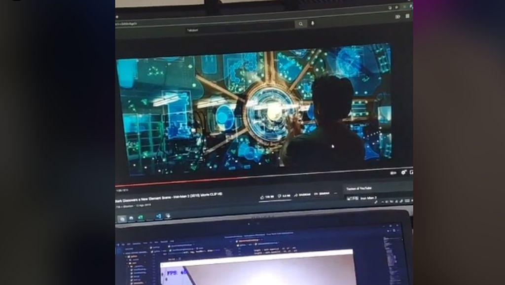 Remaja Indonesia Buat Alat Mirip di Film Iron Man, Netizen: Rekrut!
