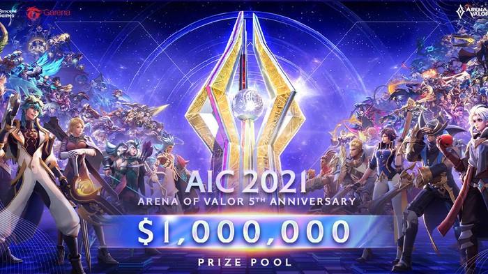 Total Hadiah Turnamen Arena of Valor Dunia Tembus Rp 14 miliar