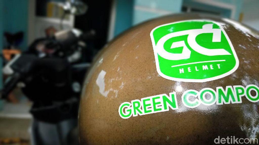 BRIN Pamerkan Helm Berbahan Limbah Kelapa ke Warga Majalengka