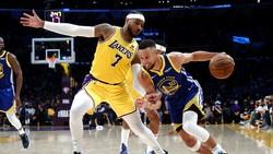 Hasil NBA: Warriors Kalahkan Lakers, Bucks Atasi Nets