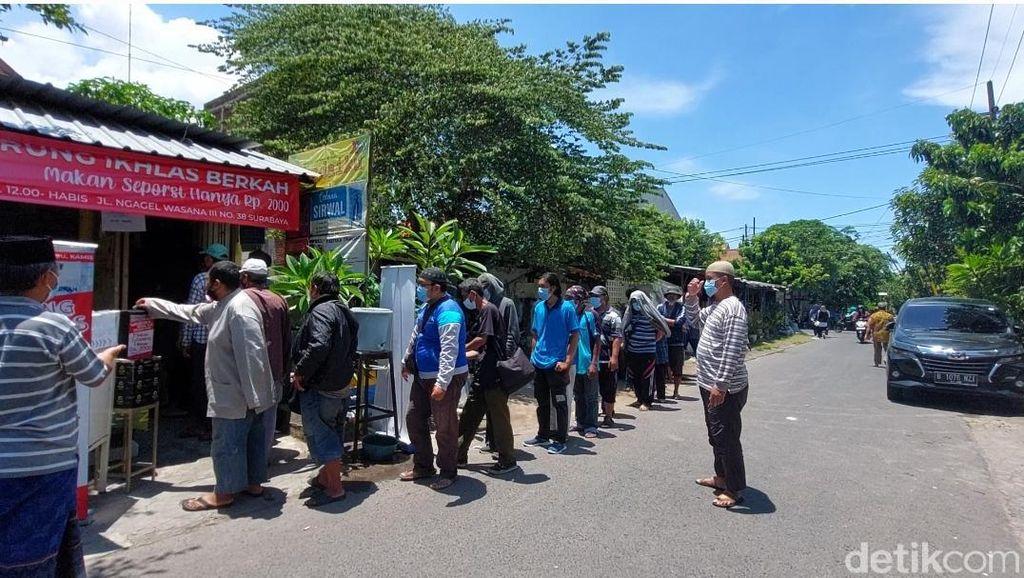 Warung Ikhlas Berkah di Surabaya, yang Makan Cukup Bayar Rp 2 Ribu