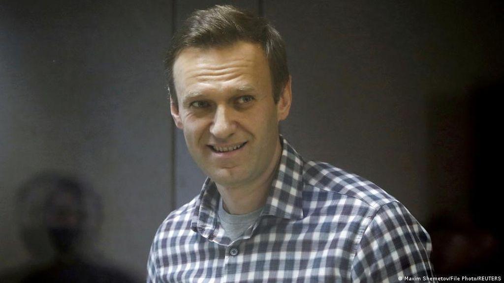 Alexei Navalny Raih Hadiah Sakharov 2021, Seruan Pembebasannya Menggema