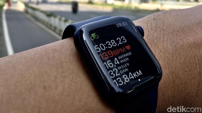 Review Apple Watch Series 6: Si Mungil dengan Jeroan Mumpuni