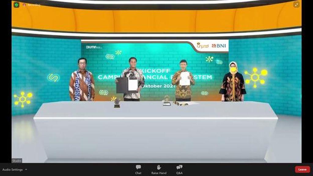 BNI Digitalkan Unpad Lewat Campus Financial Ecosystem