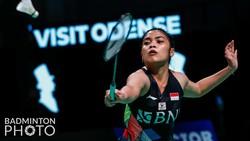 Denmark Open 2021: Gregoria Kalah, Tunggal Putri Habis