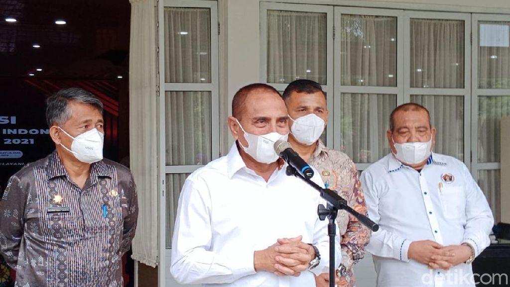 Gubsu Edy Anggarkan Rp 2,3 M Beli Bus Dinas Baru di Tengah Pandemi