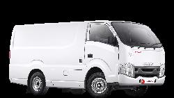 Cocok buat Mobil Pengantar Paket, Isuzu Luncurkan Traga Blind Van