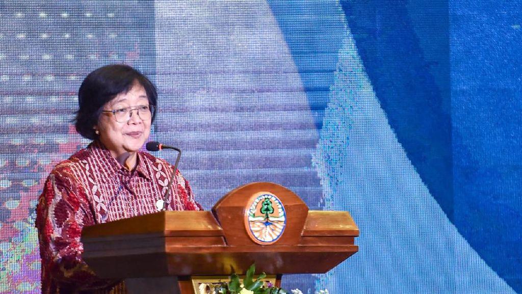 Menteri LHK Bersyukur Indonesia Bebas Asap Karhutla Selama Pandemi