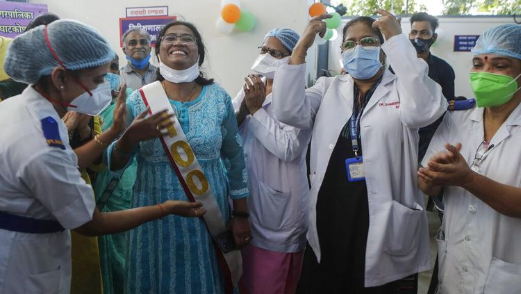 Mantap! India Capai 1 Miliar Dosis Vaksinasi COVID-19
