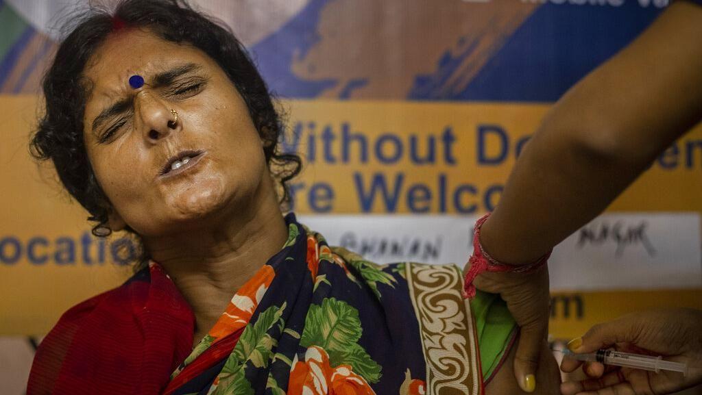 Semarak Perayaan Vaksinasi 1 Miliar Dosis Vaksin Corona di India