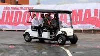 Momen Haji Isam Sopiri Jokowi di Pabrik Biodiesel Rp 2 T