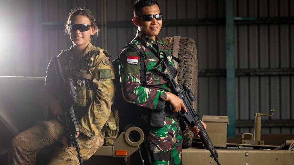 Prajurit TNI dan Prajurit Australia Gelar Latihan Tempur Bersama di Darwin