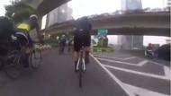 Viral Road Biker Dijambret Saat Gowes di Sudirman, Polisi Turun Tangan