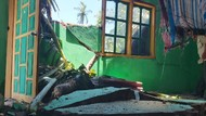 Potret 4 Rumah di Sinjai Rusak Diterjang Angin Kencang