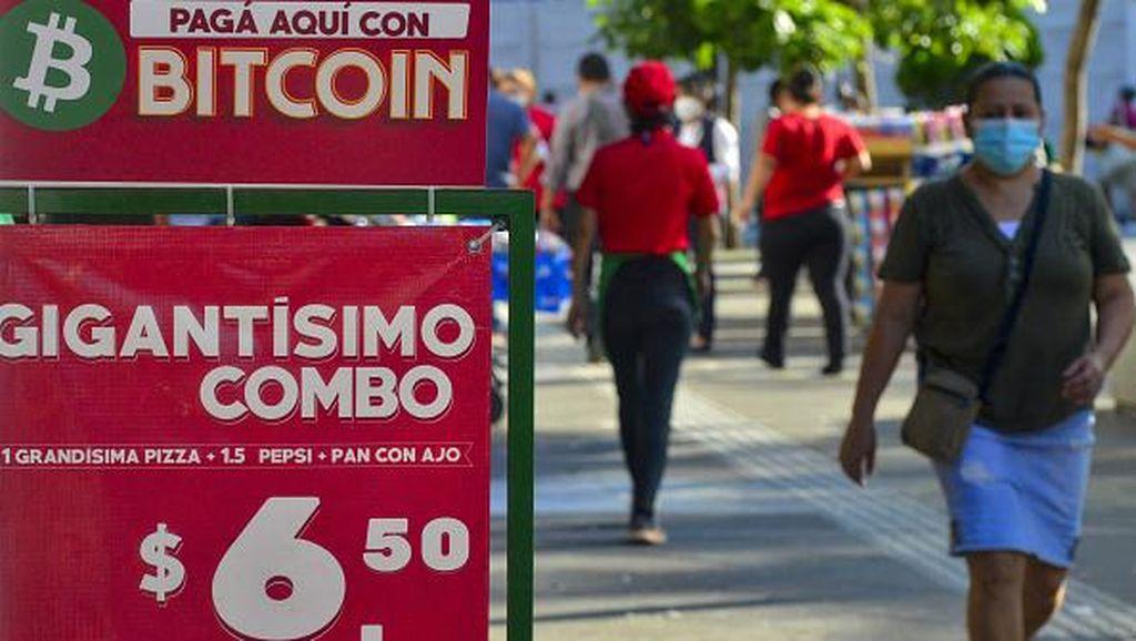 Di El Salvador Belanja Pakaian-Makanan Kini Bisa Pakai Bitcoin
