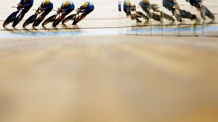 Kuartet Italia Jadi yang Tercepat Sejagat di Lintasan Velodrome UCI 2021