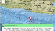 Usai Malang, Gempa M 4,8 Guncang Laut Selatan Yogya