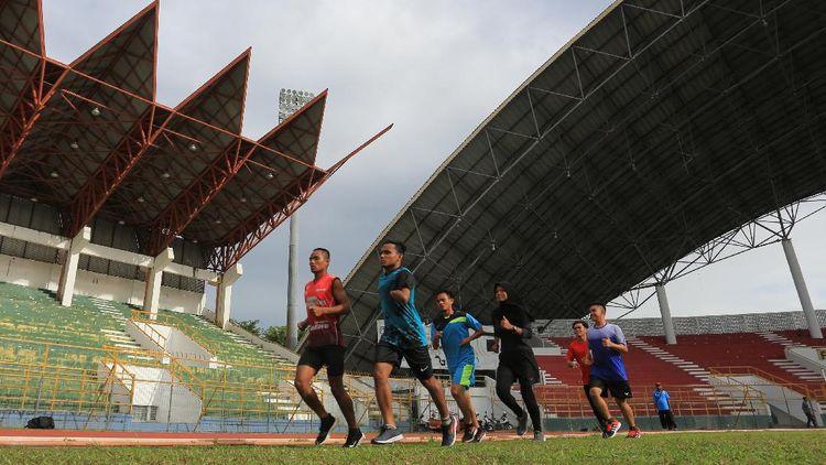 Intip Latihan Atlet Paralimpik Aceh Jelang Peparnas 2021