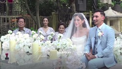Potret Pernikahan Intim Jessica Iskandar dan Vincent Verhaag