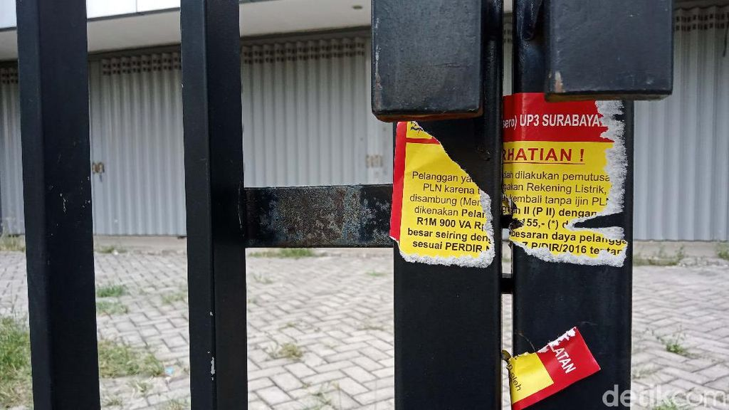 Kantor Pinjol Ilegal yang Digerebek Polda Jatim Kini Sepi