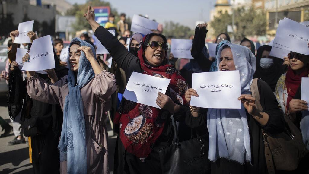 Kritik Taliban, Wanita di Afghanistan Turun ke Jalan