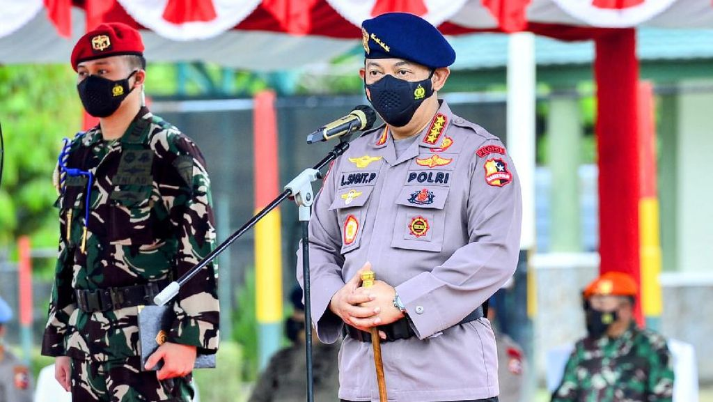 Kapolri Apresiasi TNI-Polri di Papua: PON XX Aman, Tak Ada Lonjakan COVID