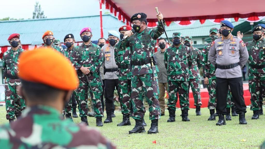 Panglima TNI Apresiasi Pengorbanan dan Sinergitas Personel TNI-Polri di Papua