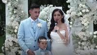 Jessica Iskandar dan Vincent Verhaag Minta Maaf Tak Undang Banyak Orang