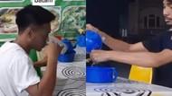 Viral Teko di Rumah Makan Ini Airnya Tidak untuk Diminum Tapi Buat Cuci Tangan