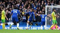 Chelsea Vs Norwich: The Blues Pimpin 3-0 di Babak Pertama