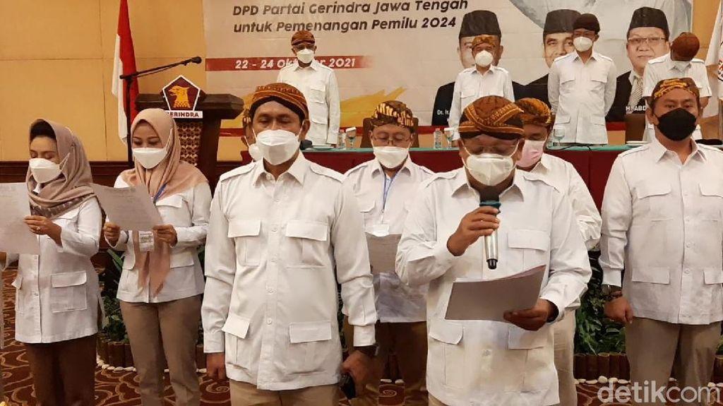 DPD-DPC Partai Gerindra se-Jateng Deklarasi Prabowo Capres 2024