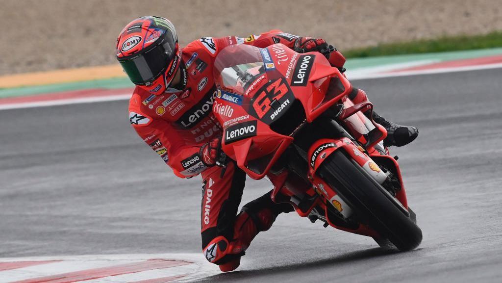 Hasil Kualifikasi MotoGP Emilia Romagna: Bagnaia Pole, Quartararo Start ke-15