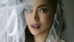 8 Foto Cantiknya Jessica Iskandar Pakai Veil Dihiasi Tulisan Janji Pernikahan