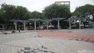 Progres Pembangunan Alun-alun Kota Bekasi Sudah 50% Lho