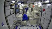 Melongok Interior Stasiun Luar Angkasa China, Lebih Cakep dari ISS