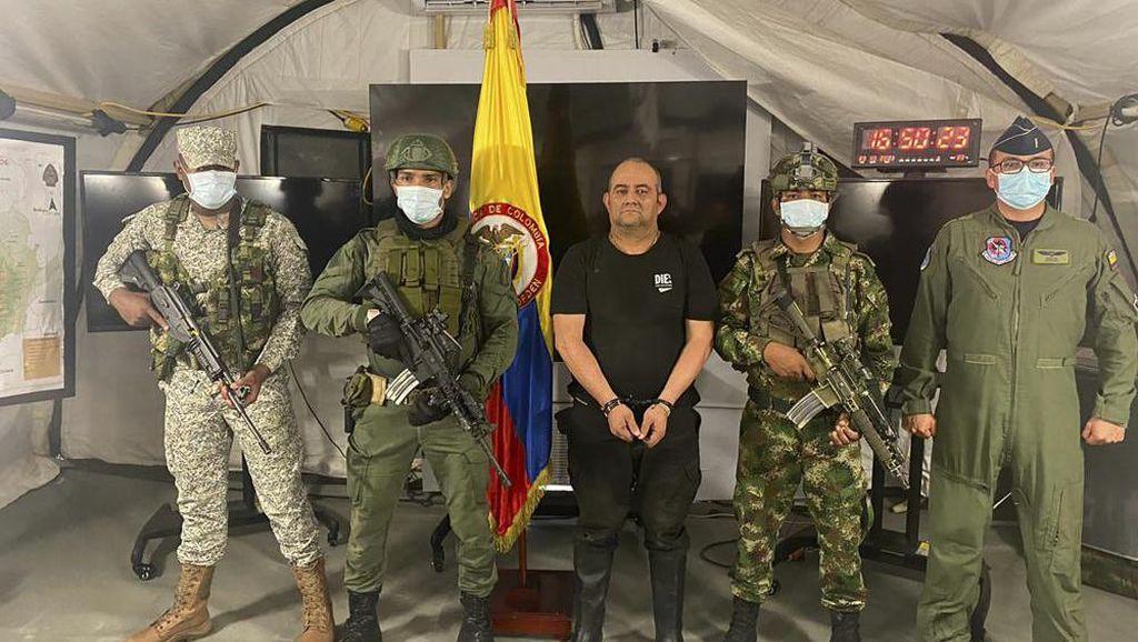 Akhir Pelarian Otoniel Usuga Bos Gembong Narkoba Asal Kolombia