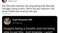 Diduga Sindir Muslim Saat Jelaskan Makanan Jerman, Bule Ini Dikecam