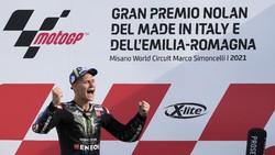 Raih Gelar Juara Dunia MotoGP 2021, Quartararo Kehabisan Kata