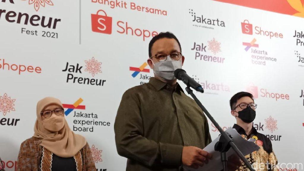 Ciptakan Lebih dari 200 Ribu UMKM Baru, Anies Sebut DKI Capai Target RPJMD