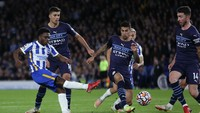 Man City Menang Telak, Guardiola Puji Perlawanan Brighton