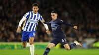 Brighton Vs Man City: Foden 2 Gol, Citizens Menang 4-1