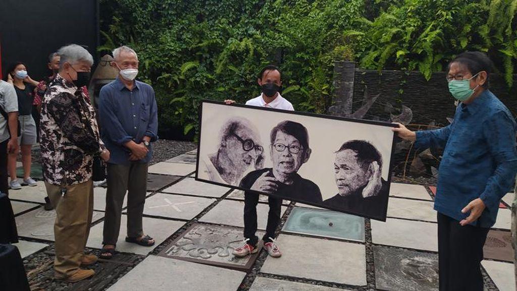 Goenawan Mohamad Gelar Pameran Tunggal di Museum OHD Magelang