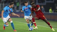 Hasil Liga Italia: AS Roma Vs Napoli Tuntas Tanpa Gol