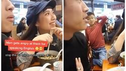 Duh! Pria Ini Diajak Adu Jotos karena Bicara Bahasa Inggris di Restoran