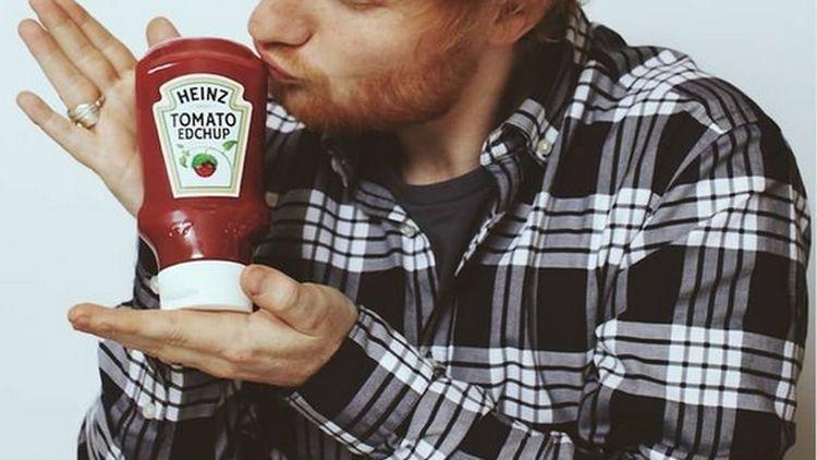 Momen Kulineran Ed Sheeran yang  Doyan Banget Saus Sambal
