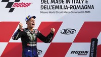 Quartararo Rayakan Gelar Juara Dunia MotoGP 2021