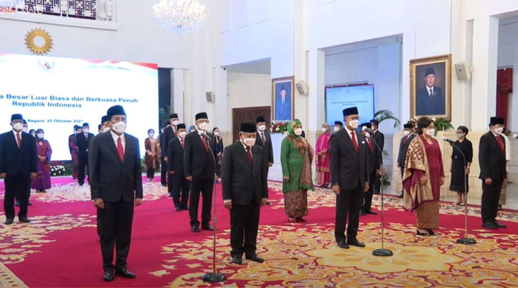 Fadjroel Rahman di Antara 17 Dubes RI yang Dilantik Jokowi