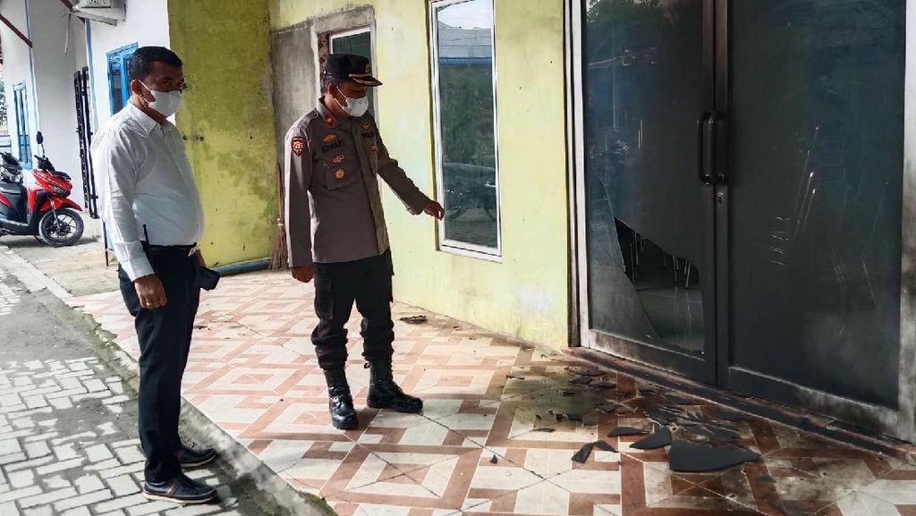 Aula Kantor Desa di Sumut Dilempar Molotov, Polisi Turun Tangan
